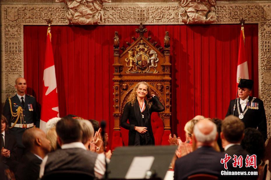 昔日航天女英雄就任加拿大新一任总督