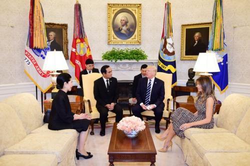 泰总理巴育会晤特朗普 称明年宣布泰国大选日期