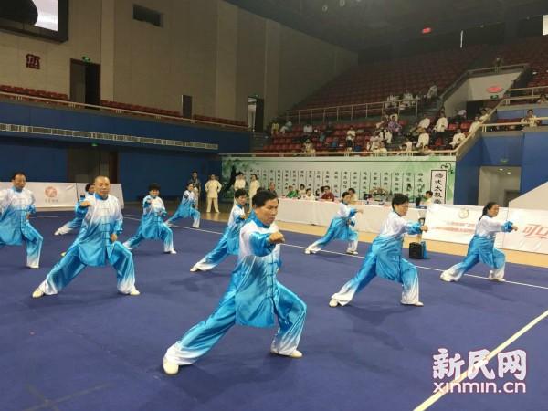 伊朗选手获上海国际健康太极拳交流大会金牌