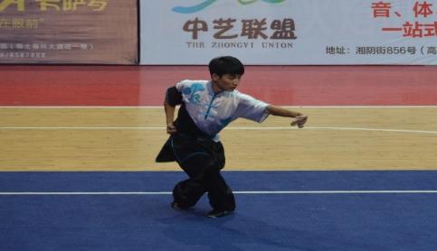 同济学子在中国大学生武术锦标赛中勇夺3金