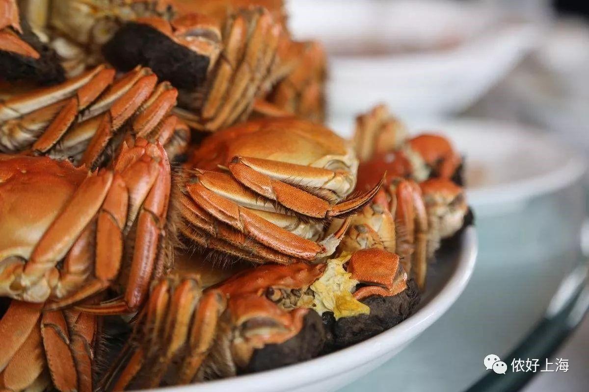 外国大咖组团来上海吃大闸蟹!还用全身贡献表情包!