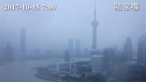 上海今最高温20℃ 下午起将转大到暴雨