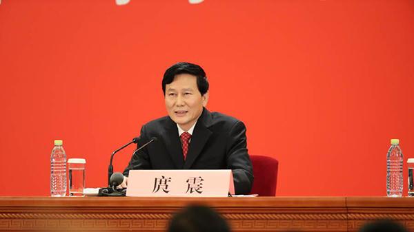 庹震:党章修改是十九大一项重要任务