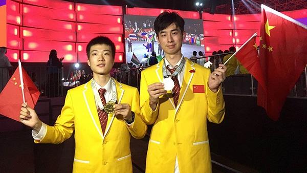 世界技能大赛:上海95后选手夺得2金 实现零的突破