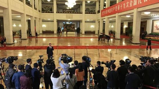 """外国人士高度评价""""党代表通道"""":看到了中国共产党的风采"""