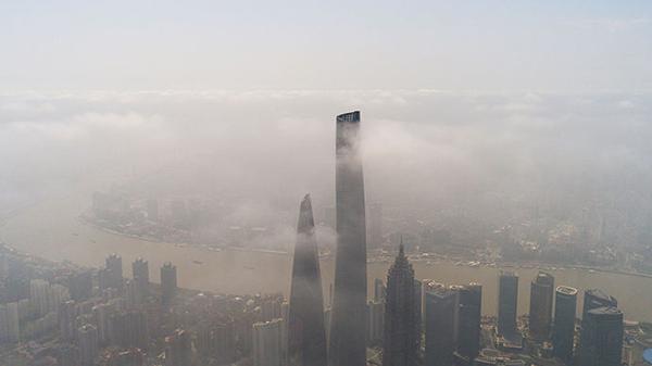 今年入秋以来首波重度污染随冷空气南下 仅影响上海四五个小时
