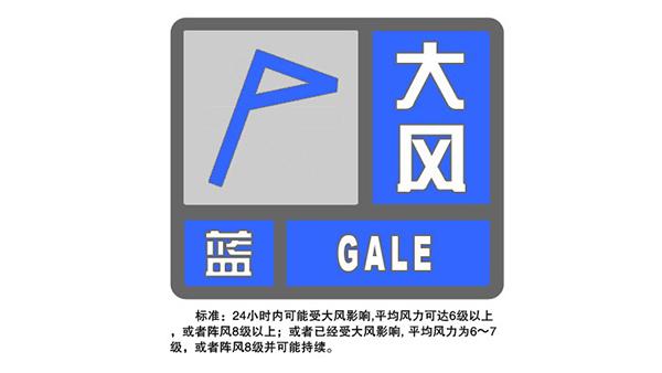申城大风降温已经开始 明天多云最高温度仅15度