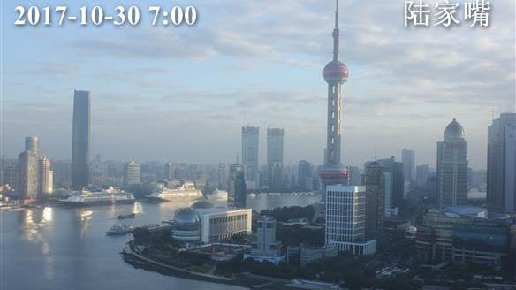 上海今大风降温 最高温15℃ 周三气温略回升