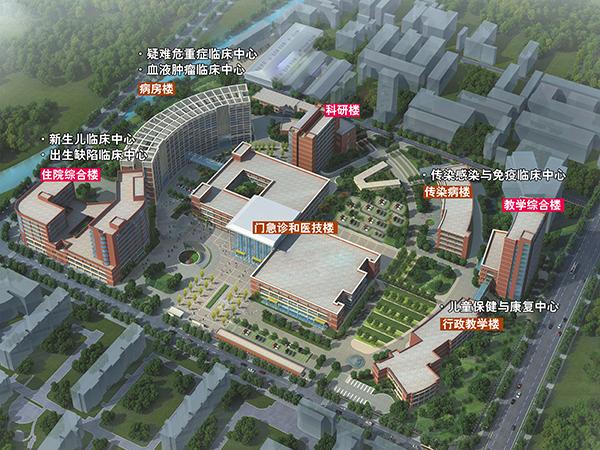 国家儿童医学中心来了!沪儿科医院扩容 建450床位住院综合楼