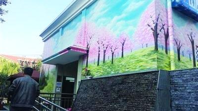 上海现彩绘公厕、智慧公厕 如厕者可给厕所打分
