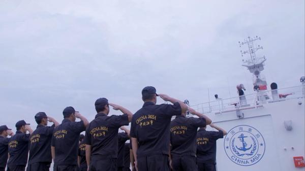 """中国海事旗舰""""海巡01""""靠泊北外滩 明后两天向公众开放"""