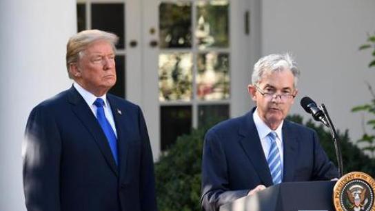 特朗普提名鲍威尔出任下届美联储主席