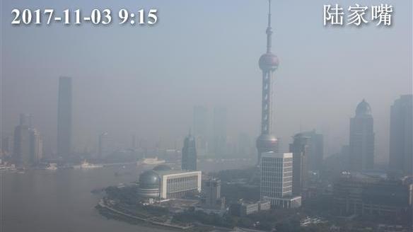 提醒:上海目前为重度污染! AQI指数达208