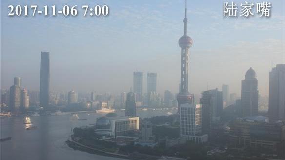 上海今多云下午转小雨 最高温22℃ 周末将迎大风降温