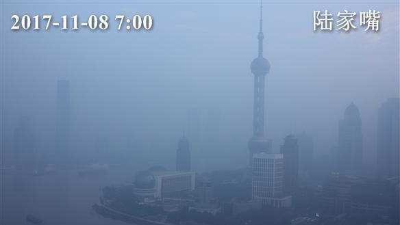 上海今有轻度到中度霾 最高温22度