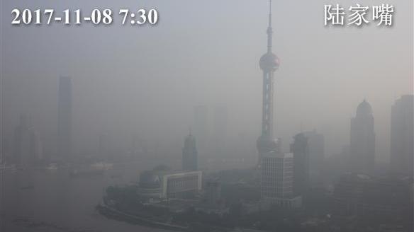 上海目前空气重度污染!AQI指数已达207