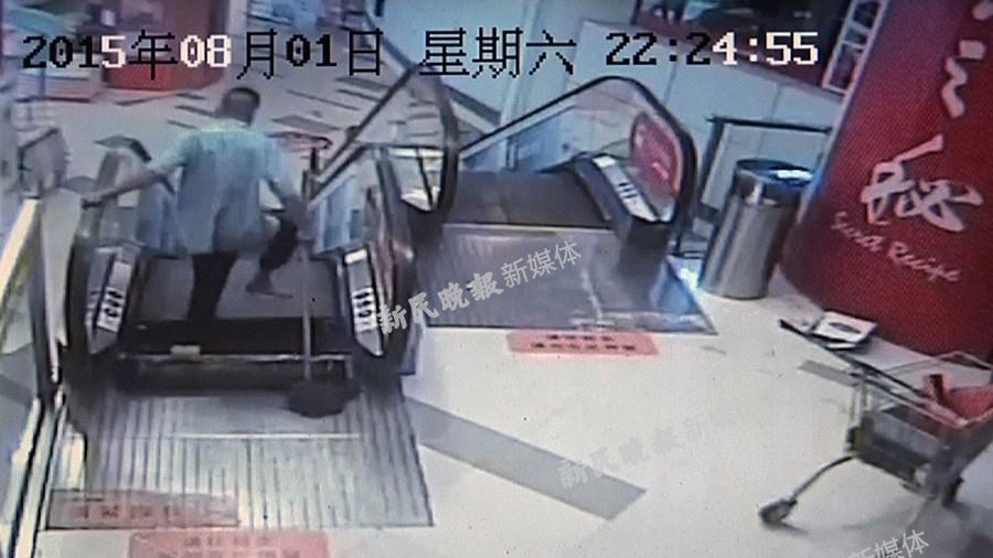 龙之梦保洁工率性操作被电梯夹致截肢 被判承担近七成责任