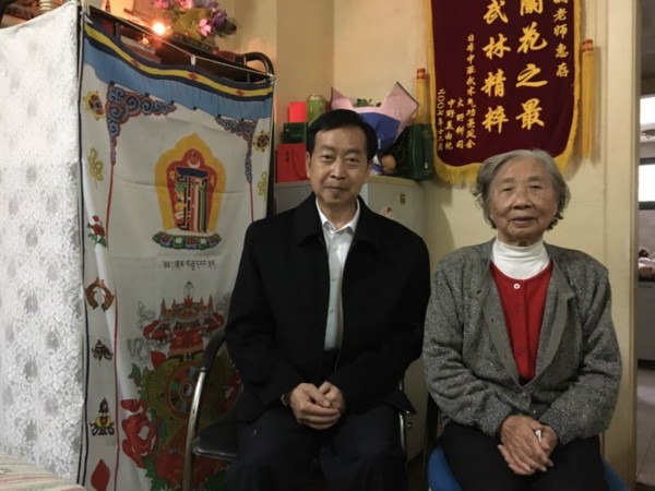 93岁邹淑娴:武术接力棒要一代又一代传下去