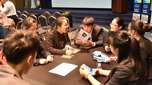 上海中职学生全球企业挑战赛上获得好成绩