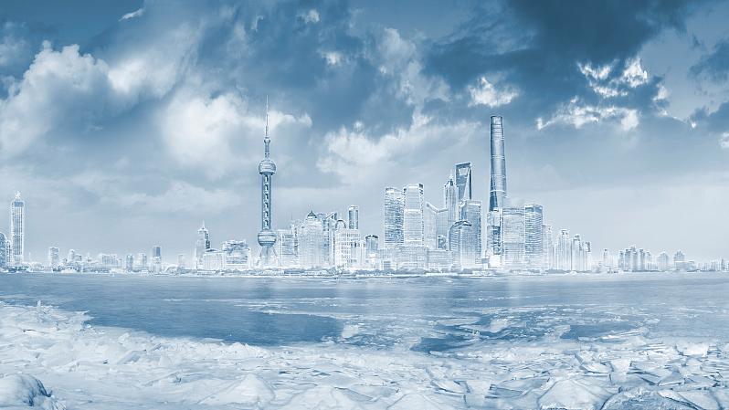 上海发布今秋首个寒潮警报!强冷空气今天半夜前后开始影响申城