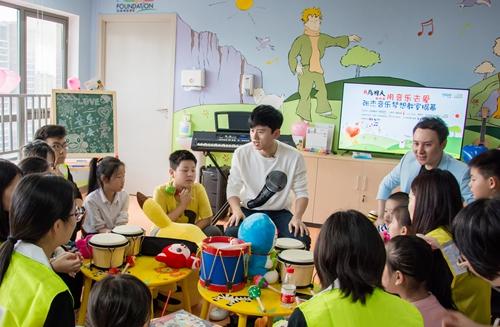 """上海市儿童医院推音乐梦想教室 """"音乐疗法""""温暖重症儿童"""