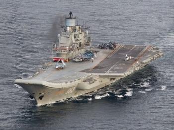 【视点】俄海军航母编队在争议中驶向叙利亚