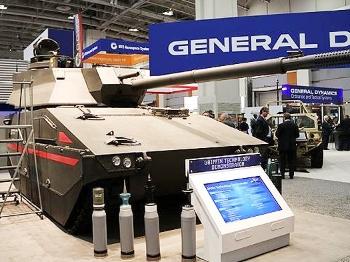 """【兵器】美国陆军未来""""空降坦克""""雏形初现"""