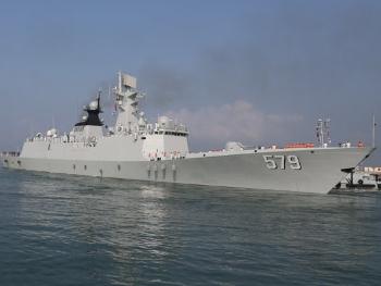 【军情】海军邯郸舰参加中巴联合海上军演