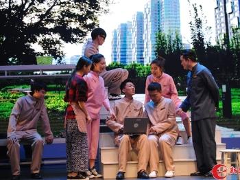 """""""汇创青春""""上海大学生文化创意作品展示季戏剧舞蹈影视类专场举行"""