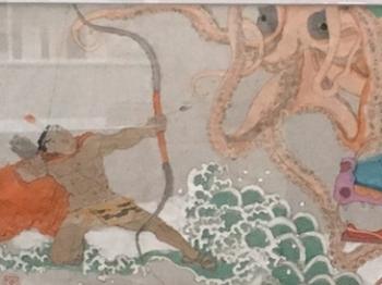 《开天辟地——中华创世神话文艺创作工程》连环画创作第一批审稿结束