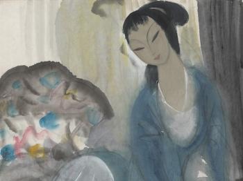 一个展、几幅画帮你了解中国人物画传承