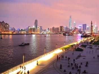 45公里双桥滨江纪行丨杨浦 2.8公里 栈桥天桥跨越工业遗存