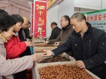 2017千岛湖年货节在沪开幕 推介农历新年去乡村旅游