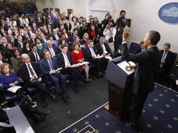 特朗普想把新闻简报室迁出白宫?记者团不答应