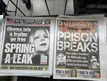 奥巴马给维基揭秘爆料者减刑 否认意在引渡阿桑奇