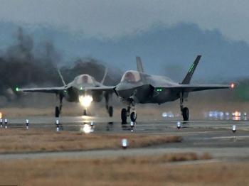 驻日美军岩国基地正式部署F-35战机