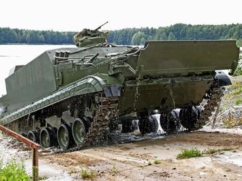 【兵器】俄罗斯研发新型BT-3F两栖步兵战车