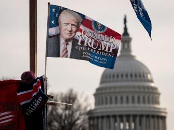 特朗普今走马上任:上亿美元保安全 白宫开启新时代