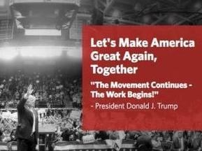 白宫网站换新貌 发布新施政纲领