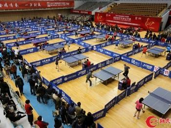 """新民晚报""""红双喜""""杯迎新春乒乓球公开赛今闭幕"""